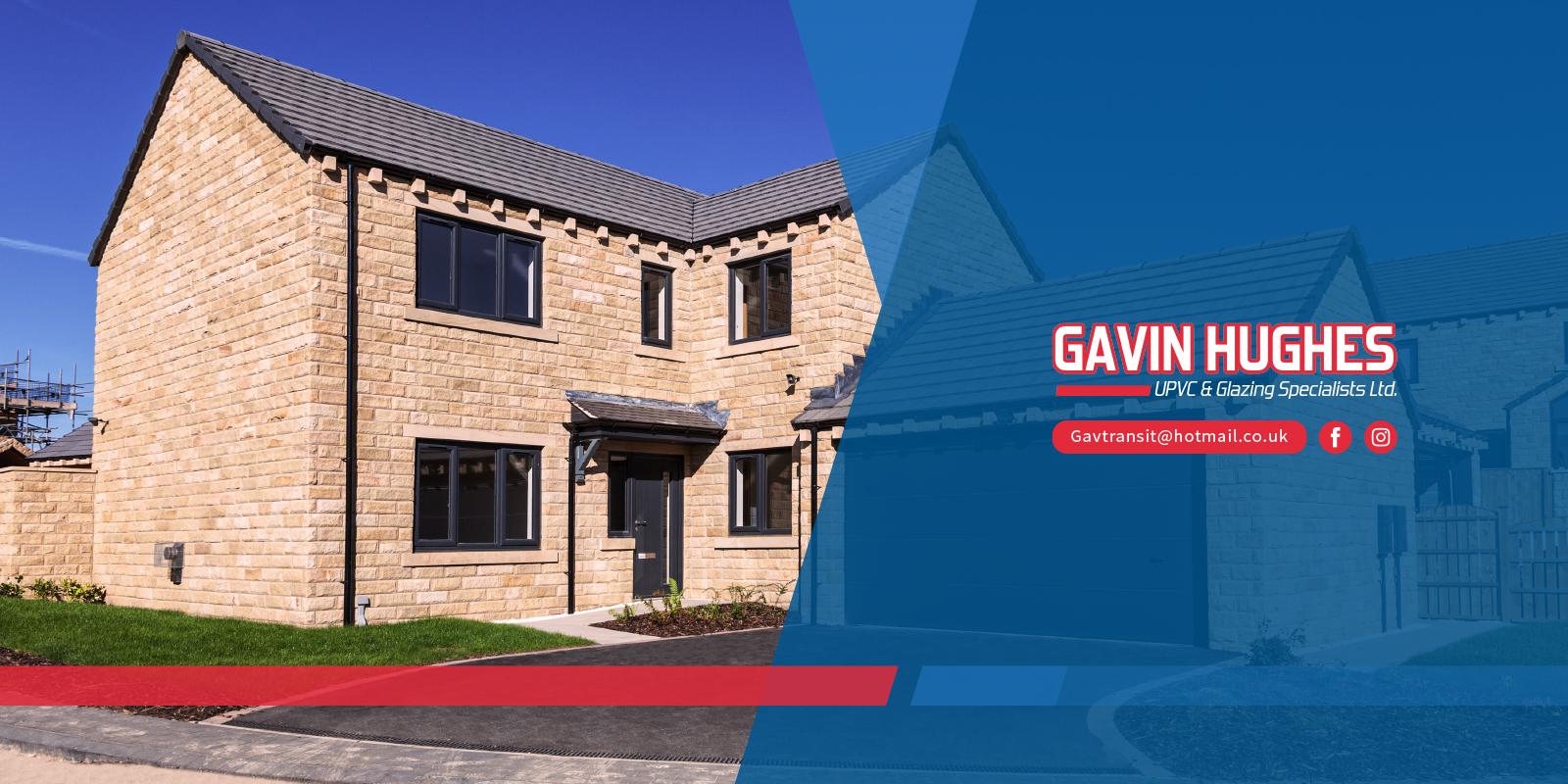 Gavin Hughes UPVC windows and composite doors main hero image